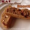 Chai Cranberry Almond Biscotti Recipe