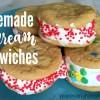 Homemade Ice Cream Sandwich Cookies