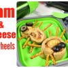 Spider Ham and Cheese Pinwheels Easy Lunch Idea