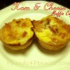 Easy Ham and Cheese Muffin Tin Meal