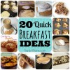 20 Quick Breakfast Ideas For Busy School Mornings