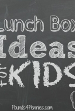 Lunch Box Ideas for Kids and Back To School