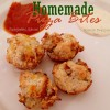 Super Easy Pizza Bites Biscuit Snacks Recipe