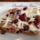 The Best White Chocolate Cranberry Bars Recipe