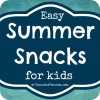 Easy to Make Summer Snacks for Kids {Linky Party}