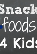Good Snack Foods for Kids After School { Linky Party }