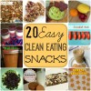 20 Easy Clean Snacks for Clean Eating