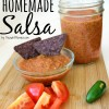 Fresh and Easy Homemade Salsa Recipe
