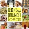 20 Easy Brunch Recipe Ideas