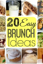 20 Easy Brunch Recipe Ideas