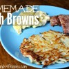 Classic Crispy Homemade Hash Browns Recipe