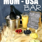 Watch Bravo's Odd Mom Out With a Drink Bar for Mom's Night In Party