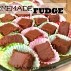 Easy Homemade Fudge Recipe in Minutes