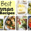 Best 20 Lemon Recipes You Need to Make
