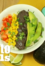 Spice up Taco Tuesday with Fiesta Meatless Burrito Bowls