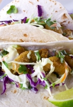 The Best Fish Tacos Recipe With Wasabi Slaw