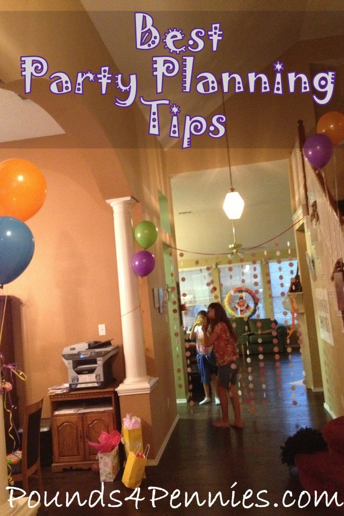 Best party planning tips for children 39 s birthday for Event planning ideas parties