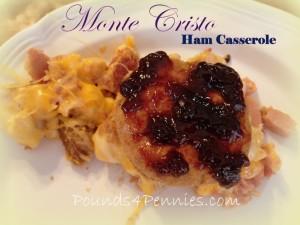 Recipe for Leftover Ham: Monte Cristo Casserole