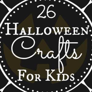 26 Simple Kids Halloween Crafts to Make