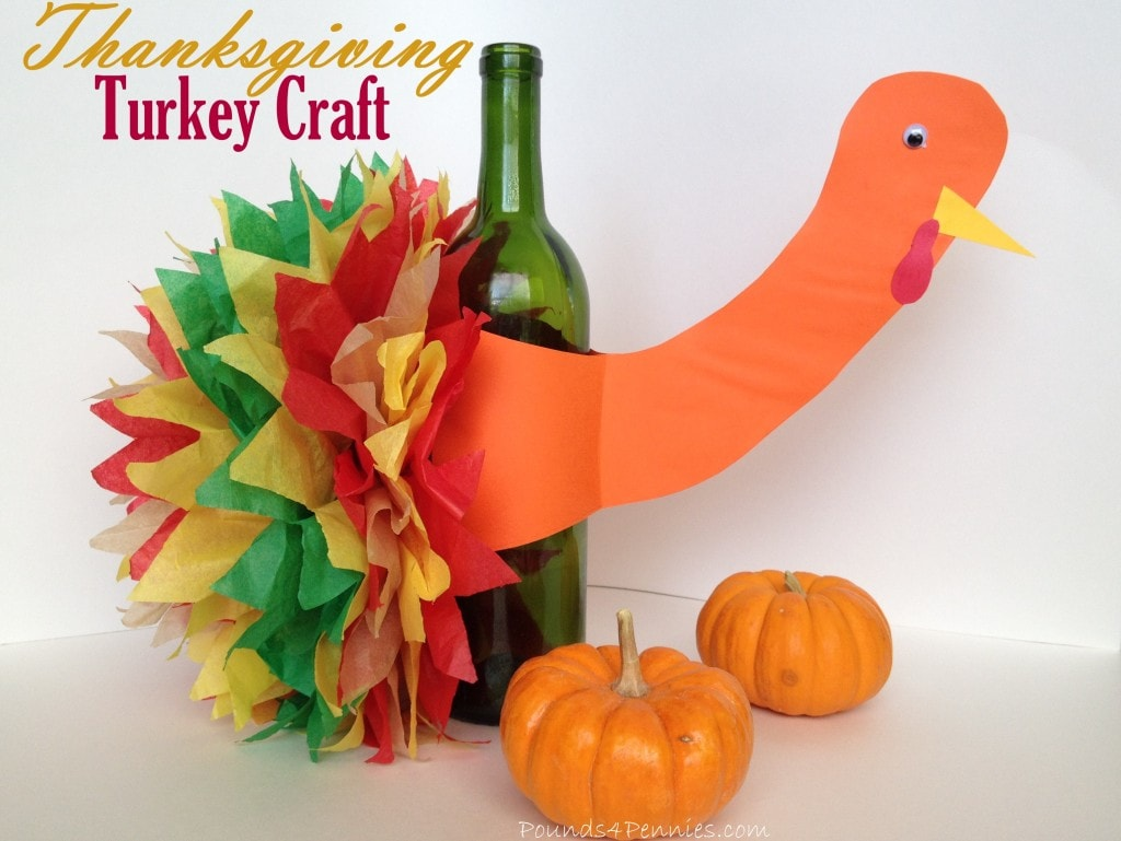 Kids Craft Ideas Thanksgiving Turkey Centerpiece