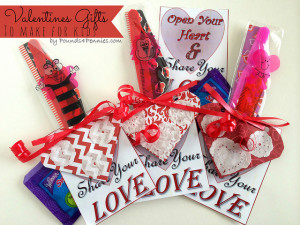 Origami Heart Valentine Gifts to Make for Kids