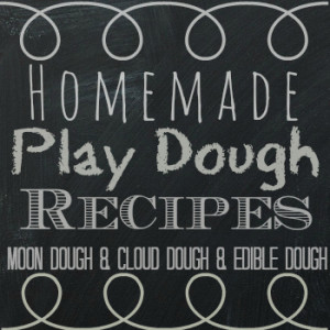 Easy Homemade Play Dough Recipes for Kids