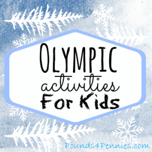 Fun Olympic Activities for Kids { Linky Party }