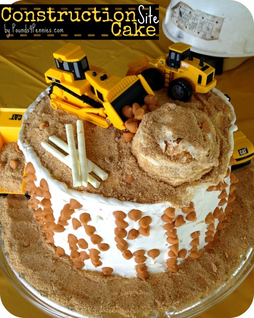 How to Make a Construction Cake for a Construction Party