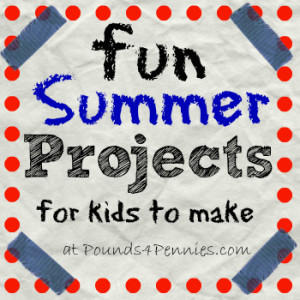 Fun Projects for Kids to Make and Do This Summer {Linky Party}