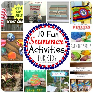 Fun Summer Camp Activities for Kids {Linky Party}