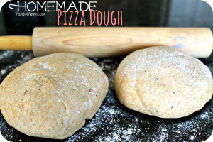 Homemade Pizza Dough from a Bread Machine