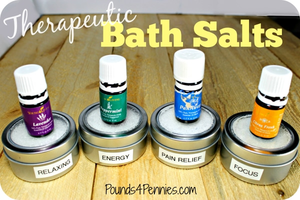 Therapeutic Bath Salts with Oils