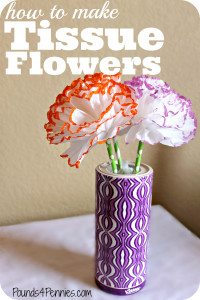 How to Make Tissue Flowers With Kleenex Perfect Fit