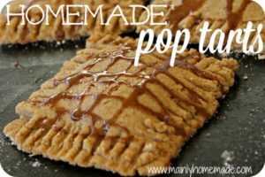 Buttery Whole Wheat Homemade Pop Tarts Recipe