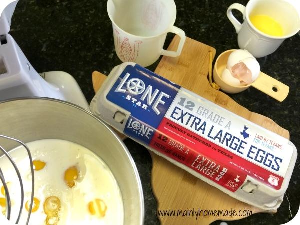Eggs in Lemon Blueberry French Toast Casserole