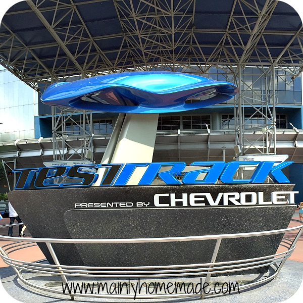Epcot Chevy Test Track Rides for Teens at Walt Disney World