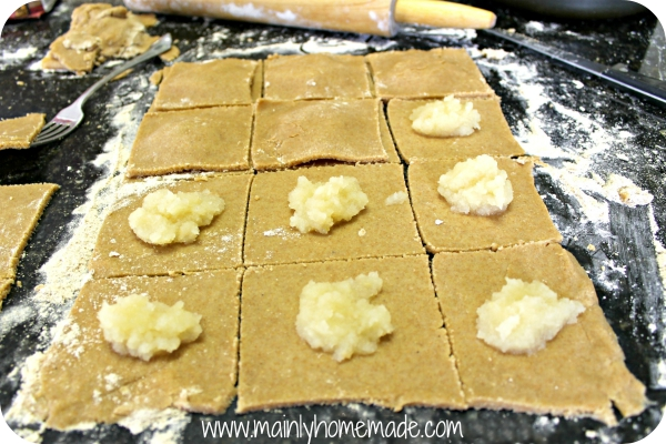 Filling Homemade Pop Tarts recipe