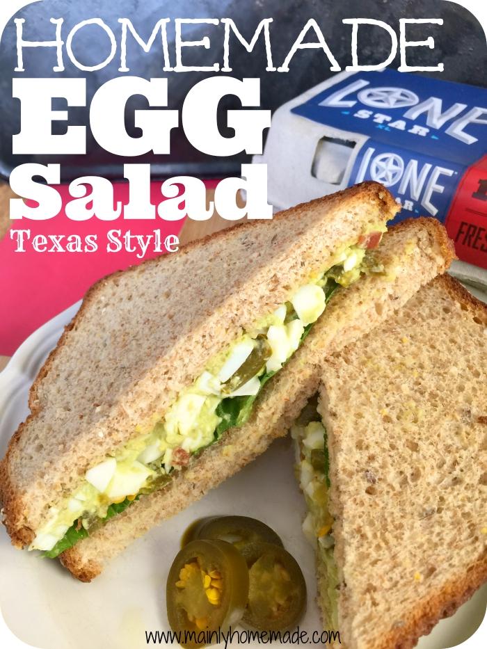 Homemade Egg Salad Recipe Texas Style