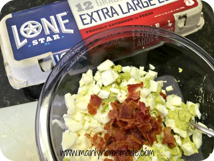 Texas Homemade Egg Salad