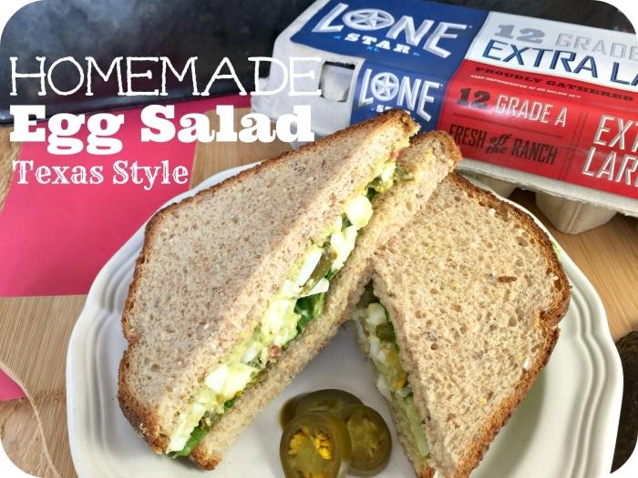 Texas Style Homemade Egg Salad Recipe