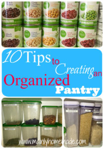 10 Tips to Creating an Organized a Pantry That Works (Day 8)