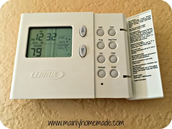 programmable thermostat cut electric bills