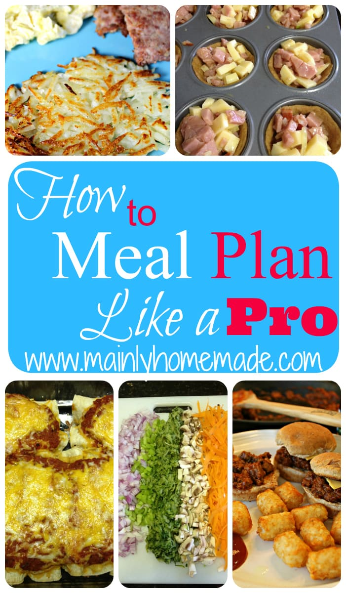 How to Meal Plan Like a Pro
