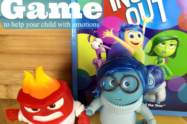Inside Out Game to Get in Touch With Emotions (Board Game)