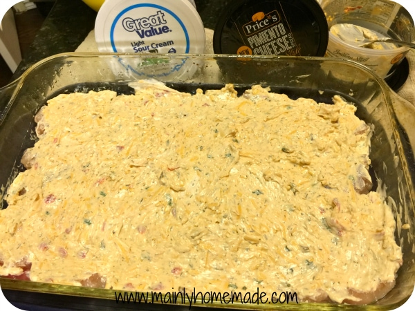 Pimento Cheese Recipes with Chicken and Sour Cream