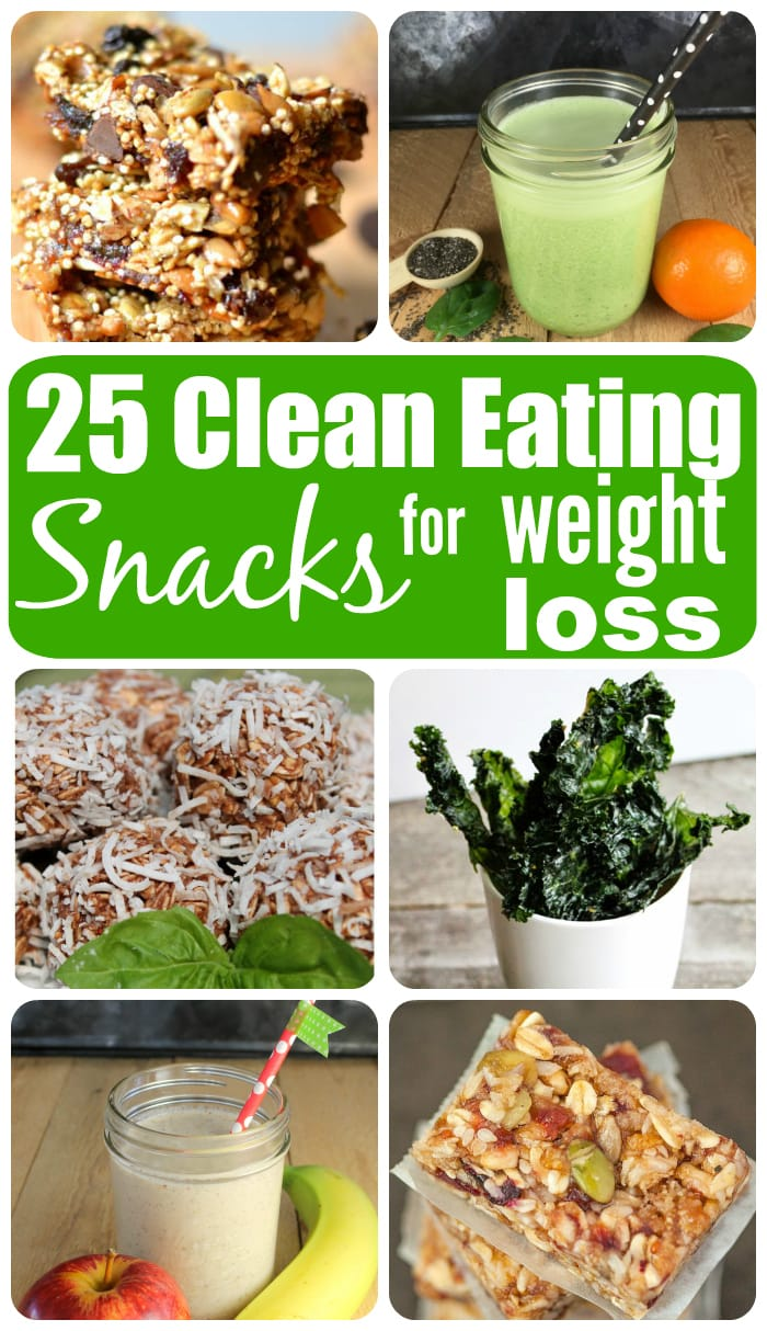 25 Clean Eating Snacks for Weight loss