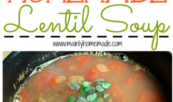 Easy Homemade Lentil Soup Recipe