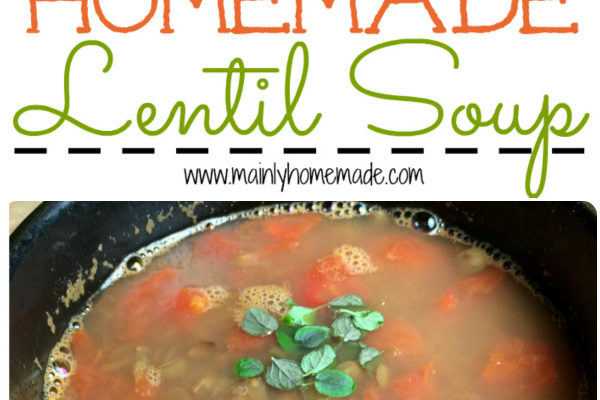 Simple Homemade Lentil Soup Recipe