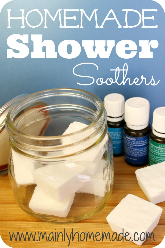 Homemade Vapor Shower Soothers