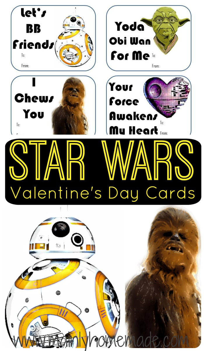 Easy Star Wars Valentines Day Cards